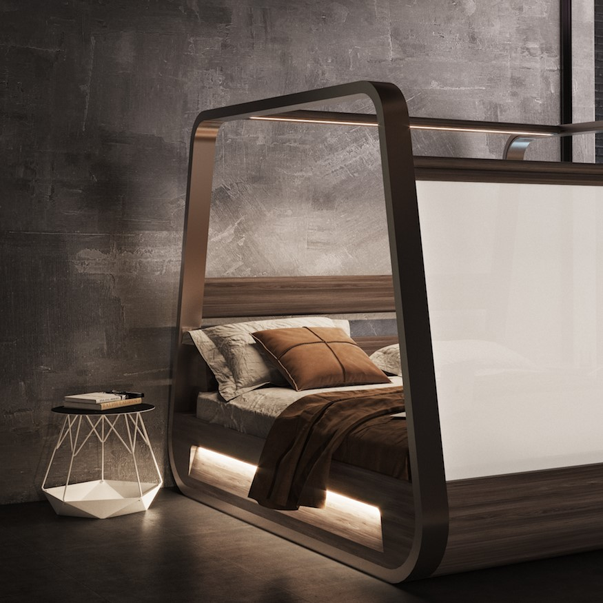 Hi-Interiors' smart Bed project